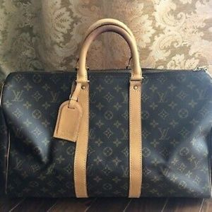 Authentic Louis Vuitton keepall Monogram 45 Carry_